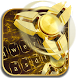 Fidget Spinner Golden Luxury Keyboard Theme by Keyboard Theme Creator