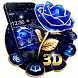 Crystal Rose Love 3D Theme by 3D Theme 2018
