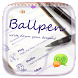 (FREE) GO SMS BALLPEN THEME by ZT.art
