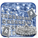 Silver Crown keyboard Theme by stylish android themes