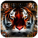 Neon Tiger Keyboard Theme by Super Keyboard Theme