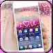 Love Rain Colorful by Launcher phone theme