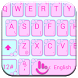 Keyboard Theme V Flower Frames by Luklek