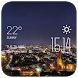 Bielefeld weather widget/clock by Widget Dev Studio