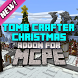 Tomb Crafter X-mas MCPE map by Pixel Moon