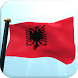 Albania Flag 3D Free Wallpaper by I Like My Country - Flag