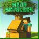 MAP Mega Skyblock for MCPE by DashaGamesInc