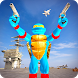 Ninja Commando vs Apes Terrorist Navy Battle by Blockot Studios