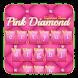 Pink Love Diamond Keyboard by Keyboard Dreamer