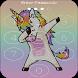 Unicorn password Lock Screen by Rombli