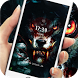 evil Roar wolf blood king theme lock screen by Cool Theme Creator