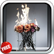 Burning Flowers Live Wallpaper by CharlyK LWP