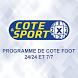 Programme cote sport by MobilexApp
