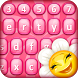 Cute Pink Keyboard Themes by Christmas Apps For Free