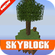 mcpe skyblock maps prank by mcpemod