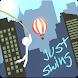 Rope Swing Stickman by Landmakk