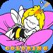 Coloring book maya bee party by ColoringEBookStudio