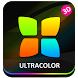 Next Launcher Theme UltraColor by Apk Creative