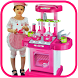 Kitchen Set Cooking Food Toys by Squishy and Toys Review
