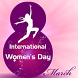 Women Day Live wallpaper by Keyboard and HD Live Wallpapers