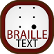 Braille Text by UlmDesign
