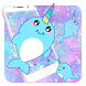 Baby Unicorn Whales Theme by Cool Theme Love
