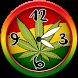 Weed Analog Clock Widget by Cicmilic Soft