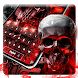 Deathly darkside graveyard skull typewriter theme by Mobile themes by Pixi