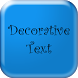 Fancy Text - Decorative Text by A Raqeeb
