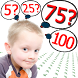 Practice Numbers 1 to 100 by Hiegames.com