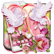 Lovely Rose Pigeon Theme by Classic Android Themes