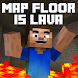 Maps The Floor is Lava for MCPE