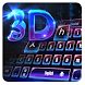 3D Laser Science keyboard by M Typewriter Theme Studio