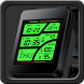 A41 WatchFace for Android Wear by Smartwatch Bureaux