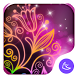 Beautiful neon colorful flowers theme & wallpaper by CoolAppPub