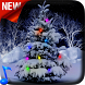 Snowy Christmas Tree 3D by Video Themes Pro