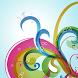 Aqua Curls Live Wallpaper by HardSoftCo