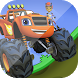Blaze racing truck adventure by app and game