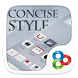 Concise Style GOLauncher Theme by Freedom Design