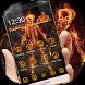 Fire Skull Theme by Theme Dreamer