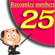 Recognize numbers game by Hiegames.com