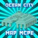 Deep Ocean City map for MCPE by EnjoyWeaver