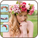 Wedding Flower Crown Hairstyle by Cruise Infotech
