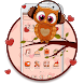 Cocoa Chocolate Owl Theme by Classic Android Themes