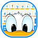 Wacky Duck Keyboard Theme by stylish android themes