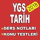 YGS Tarih Konu Anlatım & Soru Bankası 2018 by App-Center