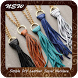 Simple DIY Leather Tassel Necklace by GoDream Studio