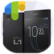 Launcher Theme for Xperia L1 by SoftClickSolutions