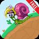 Snail Girl Bob Jump by YooB Game inc