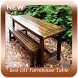 Best DIY Farmhouse Table Projects by Chiron Studio